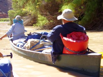 Self-Guided Overnight Canoe Trips On The Colorado River