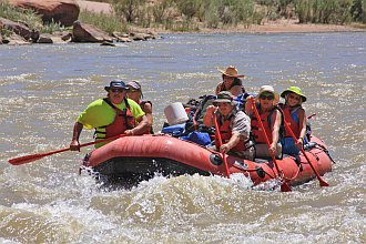 day raft paddle at 5000cfs