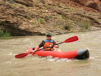 guided day rafting