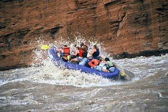 rafting day at 18000cfs