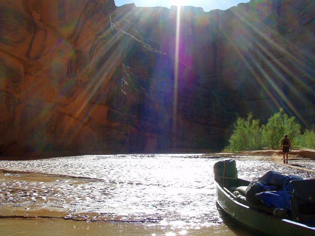 San Juan River Navajo Side